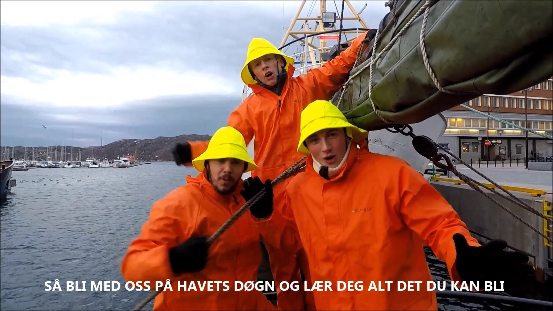 Andreas fra Fauske bidro til Se laksen-video