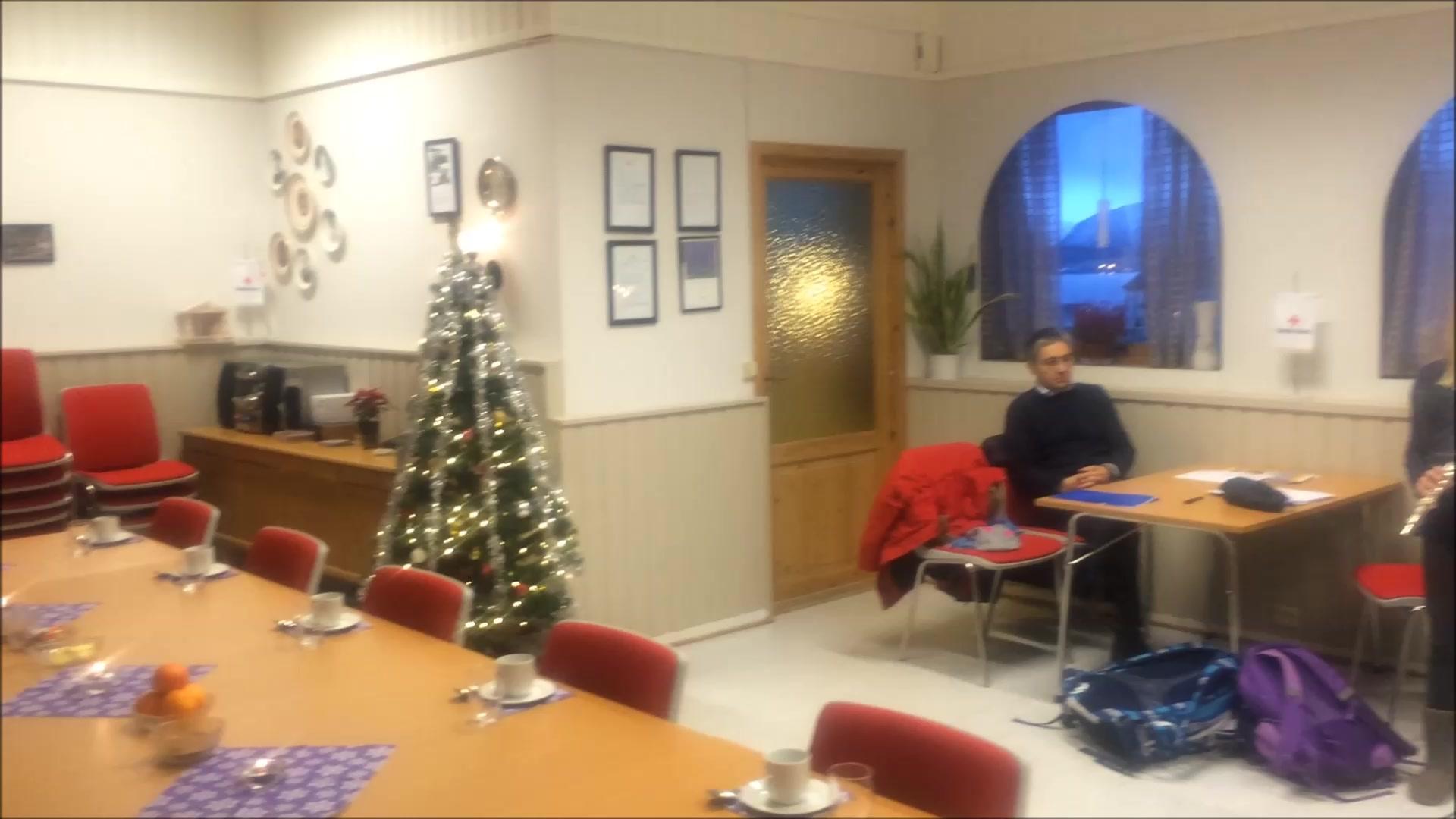 Jul i Røde Kors-huset