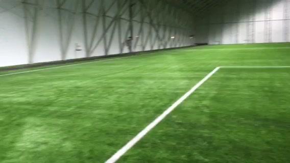 Fotballhallen fra innsiden