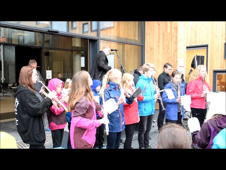 Åpning av Vestmyra skole