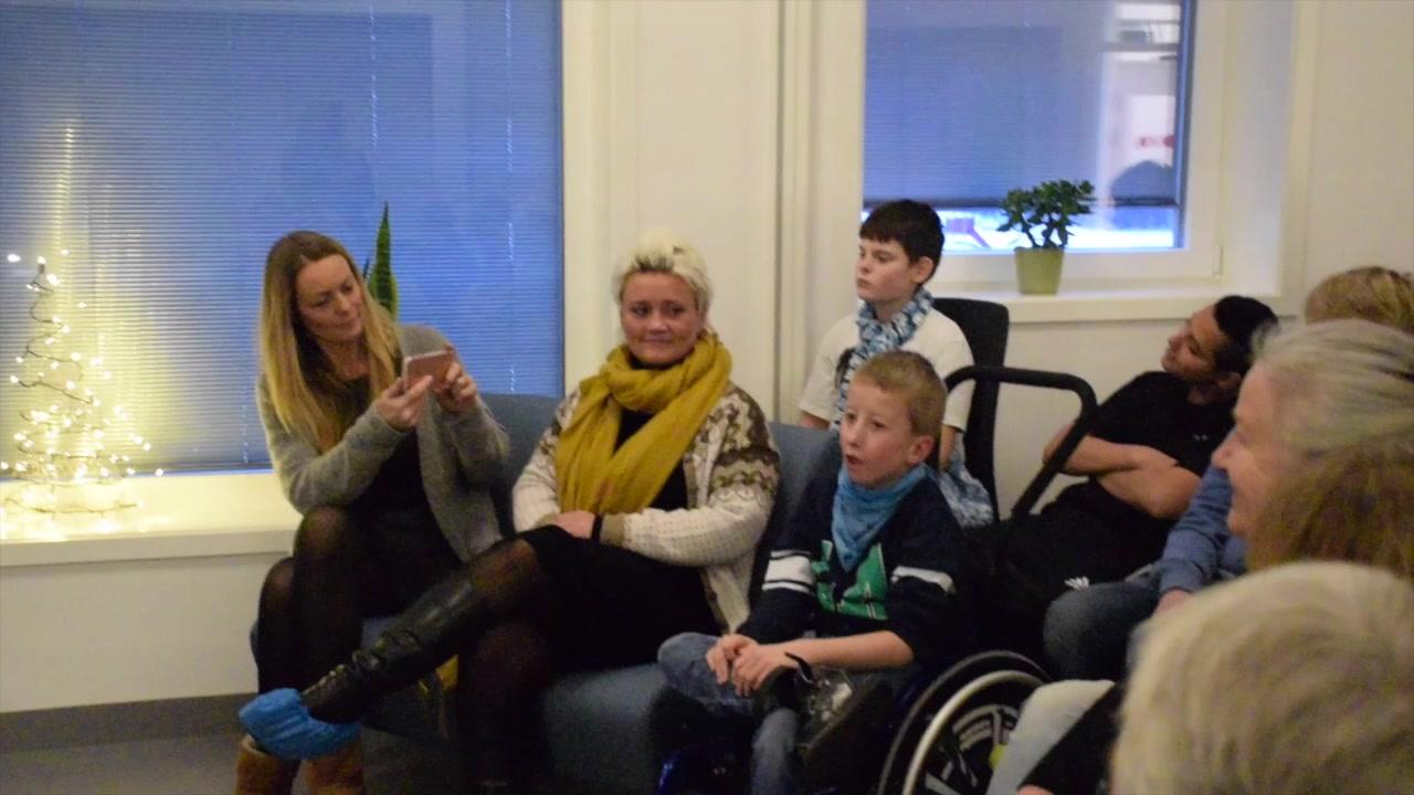 Minikonsert på Vestmyra skole
