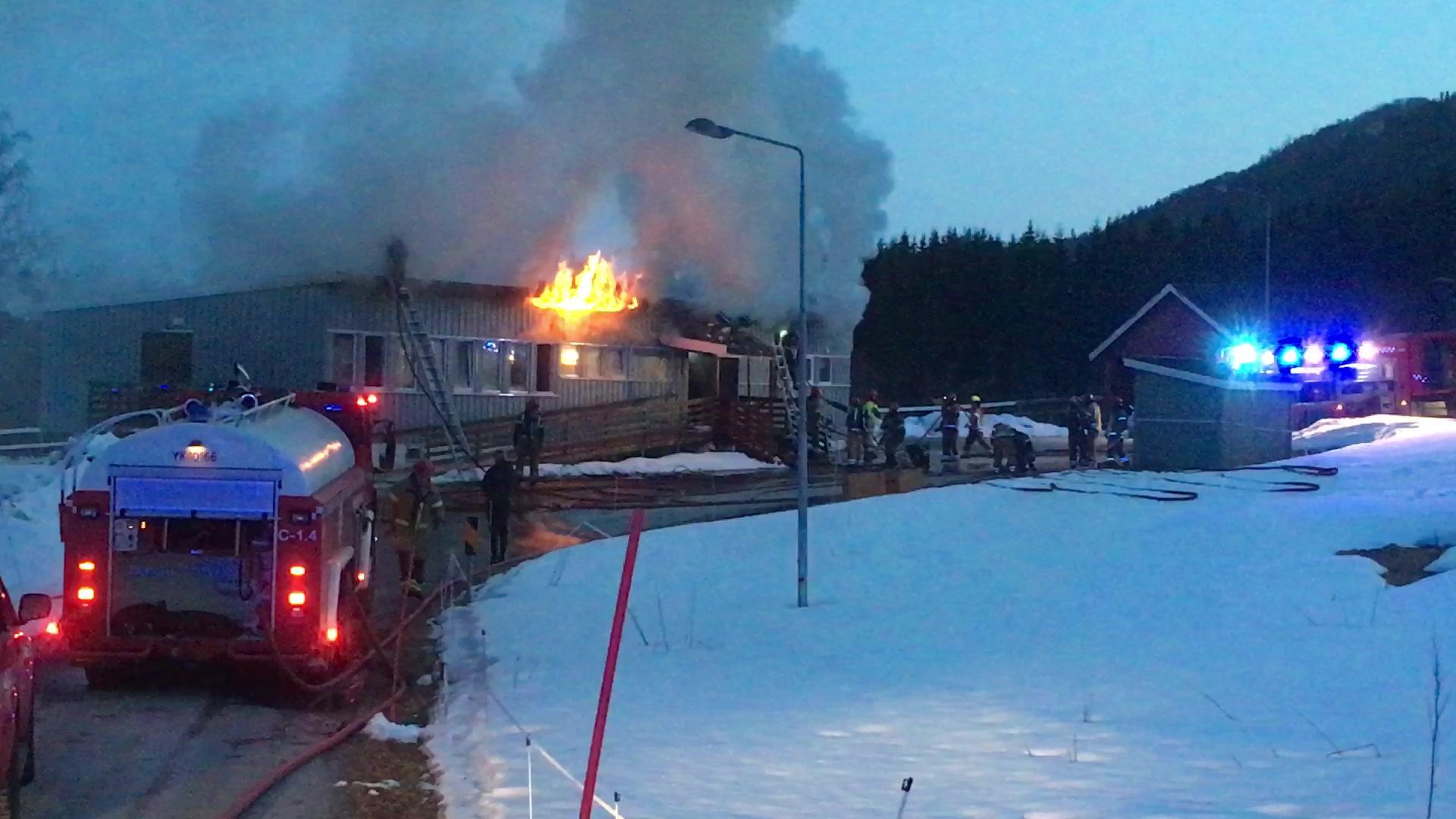 Brannen i Røvika