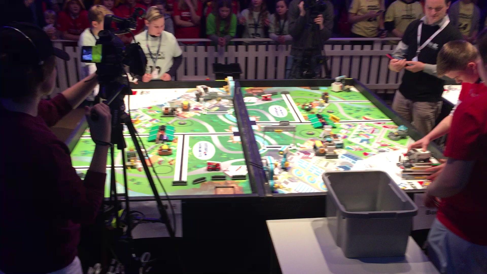 Lokaloppgjør i First Lego League