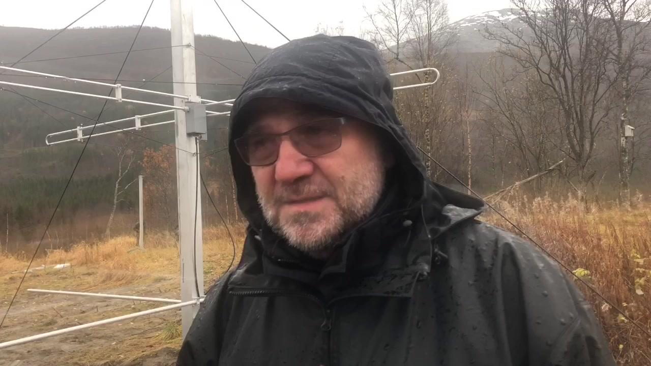 Bygger antennepark i Sørfold