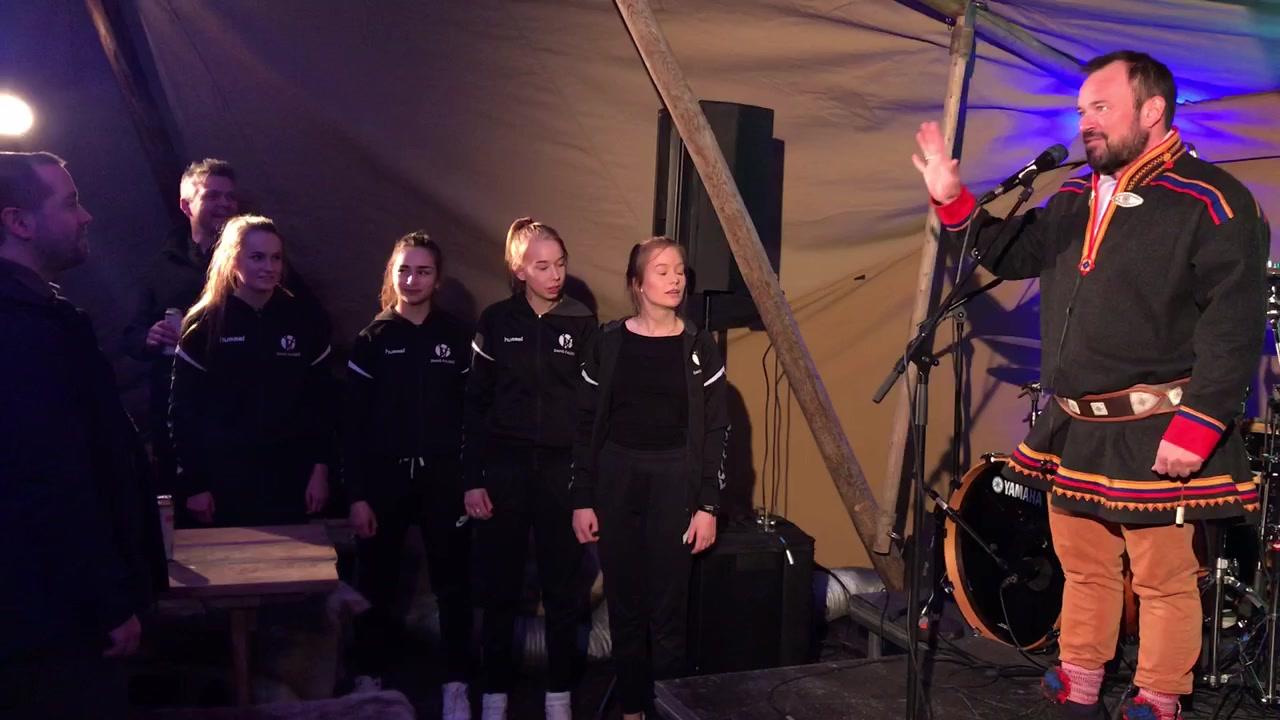 Mikkel Gaup-konsert på Fauske