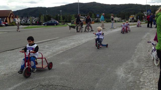 Sykkelløp for trehjulinger