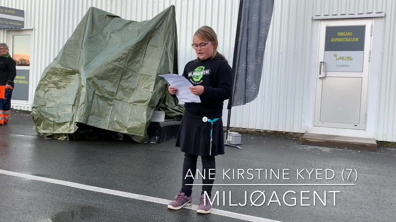 Miljøagent avduket trash animal