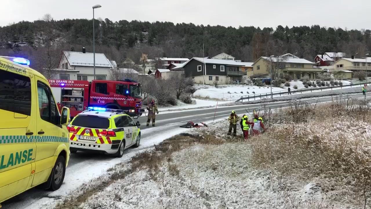 Utforkjøring i Kleiva