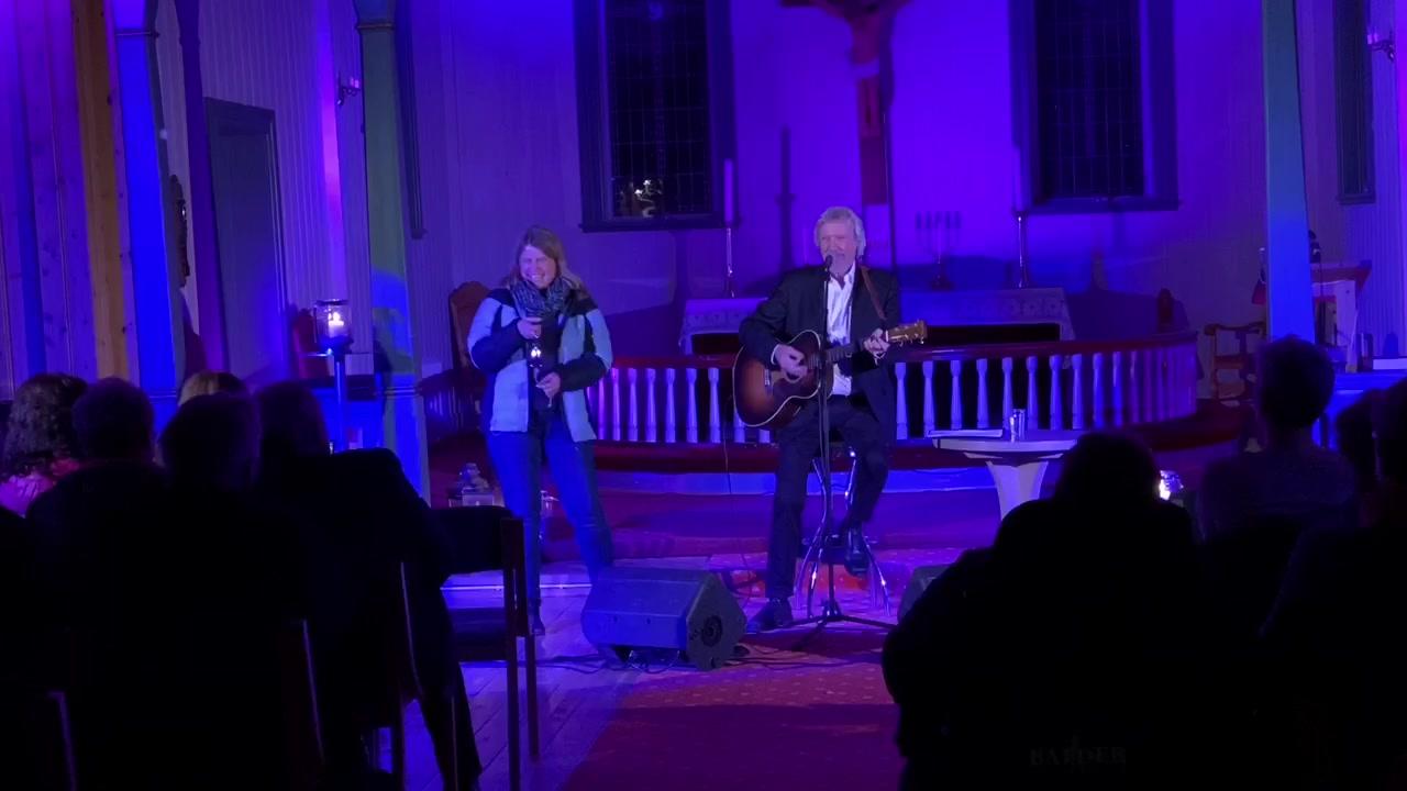 Benny Borg i Saltdal kirke