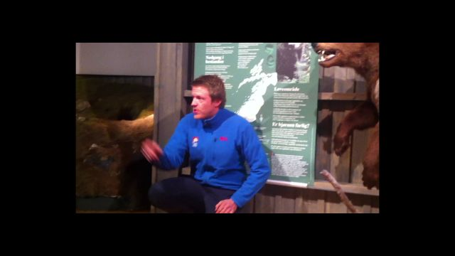 Lærte barn om bjørn