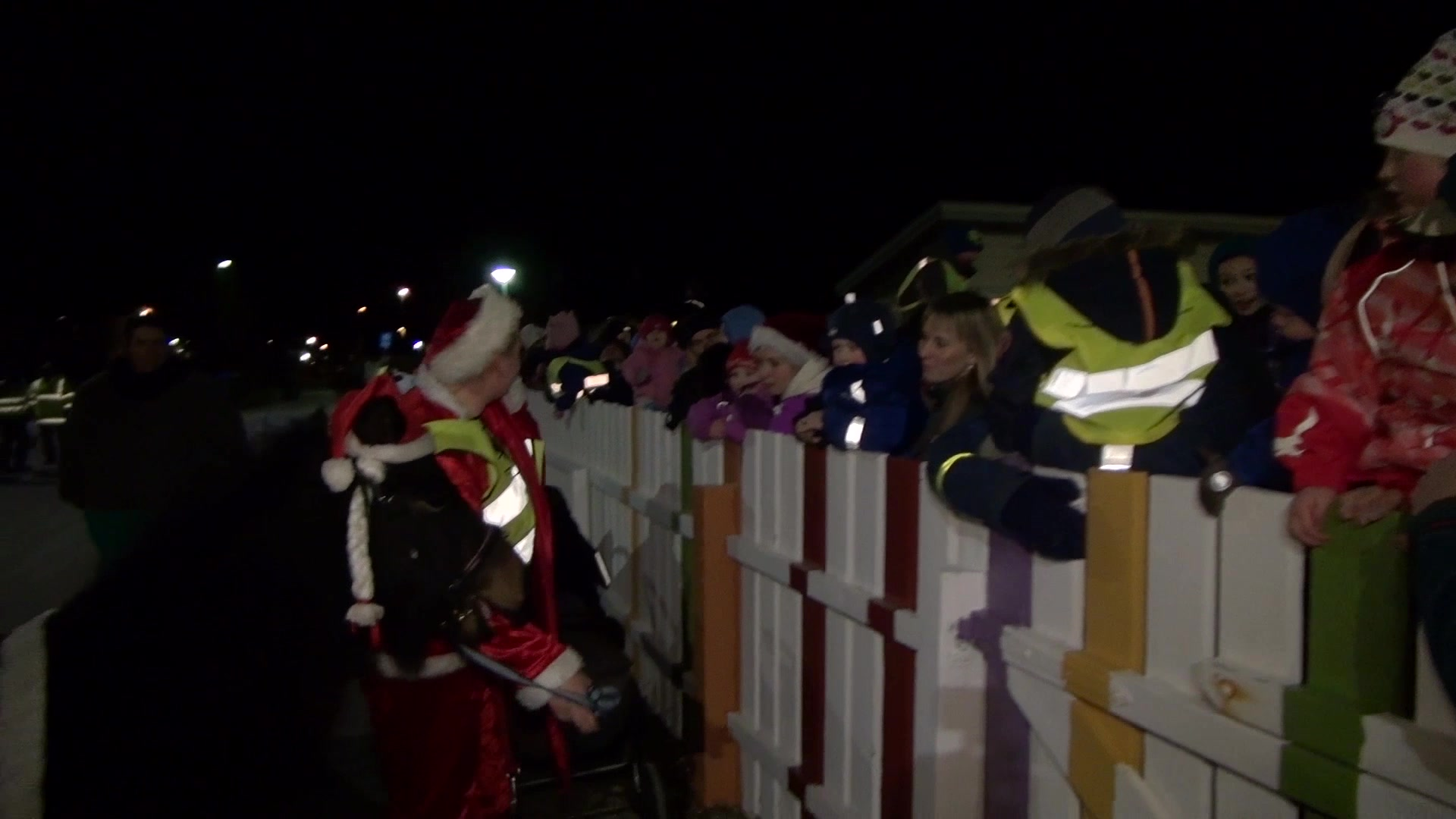 Juletrefest på Vestmyra