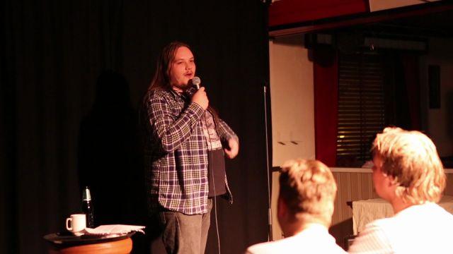 Debut som komiker